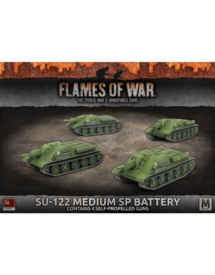 SU-122 MEDIUM SP BATTERY (x4 tanks)
