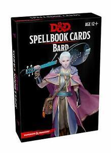 D&D: Spellbook Cards: Bard Deck (128 Cards)