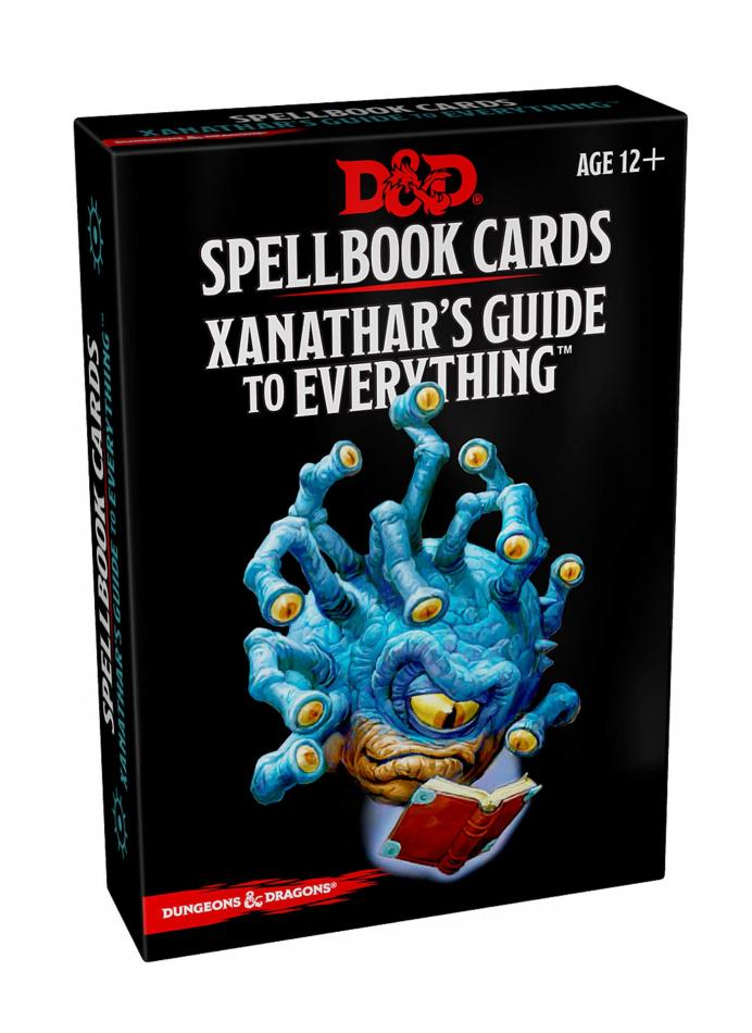 D&D: Spellbook Cards: Xanathars (95 Cards)