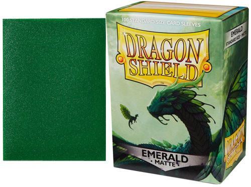 Dragon Shield Sleeves Matte Emerald (100)