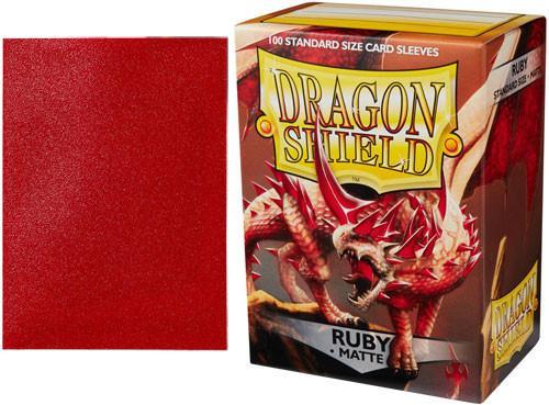 Dragon Shield Sleeves Matte Ruby (100)