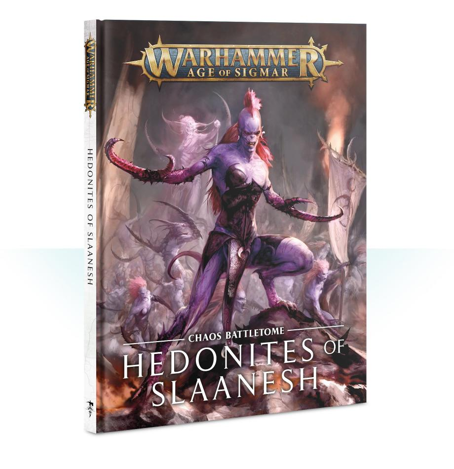 Battletome: Hedonites of Slaanesh (Hardback) (English)