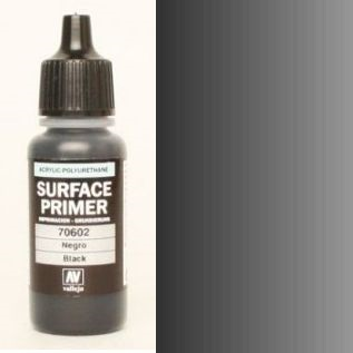 17ml Acrylic Polyurethane Primer 602 - Black