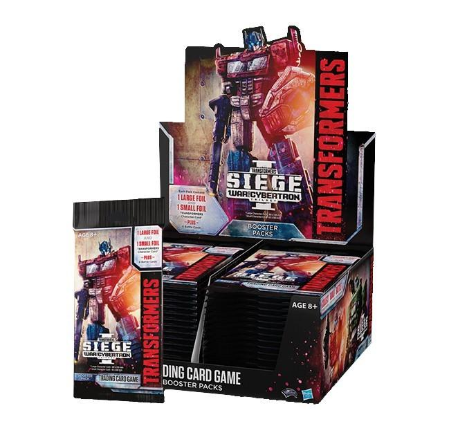 Transformers Trading Card Game War for Cybertron Siege I Booster Display