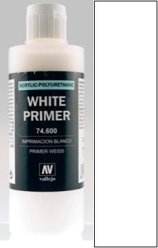 200ml Acrylic Polyurethane Primer 600 - White