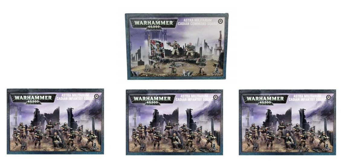 Imperial Guard Platoon Bundle