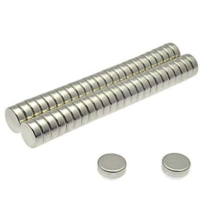 Rare Earth Magnets (6mm x 2mm) 10-Pack