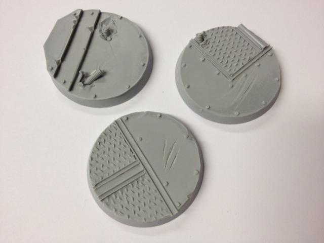 Abandoned Battlecruiser Round Bases 40 mm (3)