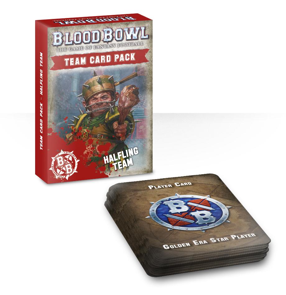 Blood Bowl Halfling Team Card Pack (English)