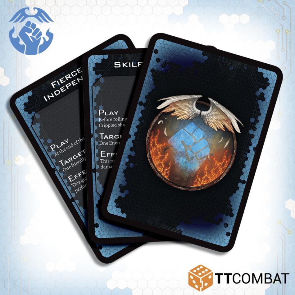 DFC Resistance Command Cards