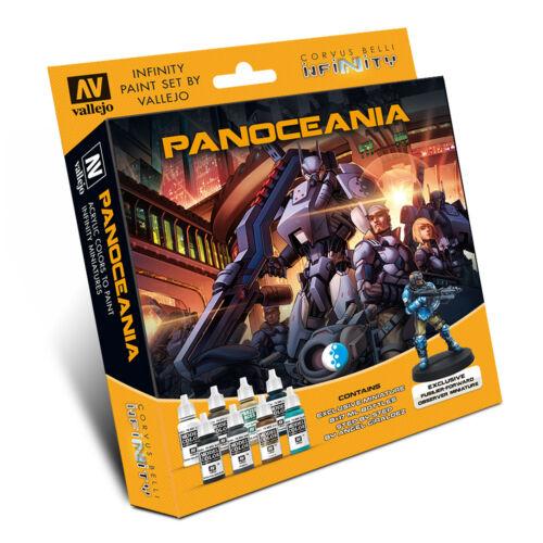 Model Color - Infinity Panoceania Paint Set w/ Exclusive Miniature