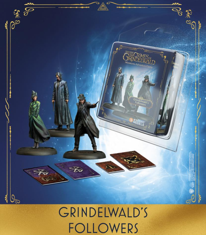 Grindelwald's Followers (Set of 3)