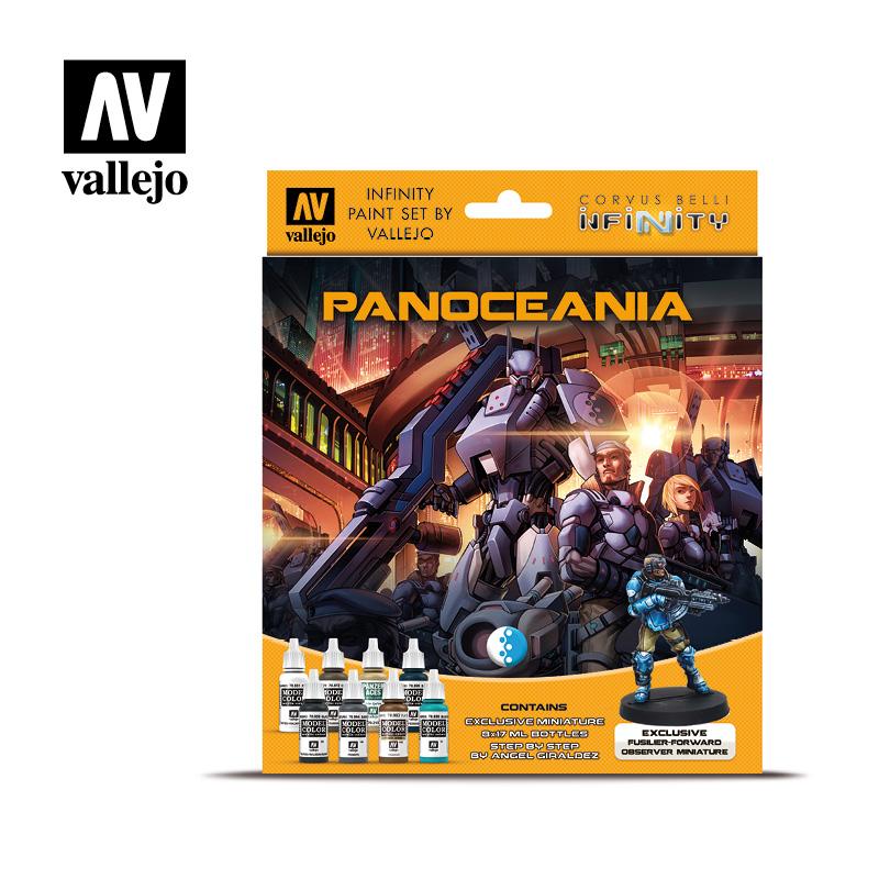 Model Color Set: Infinity Panoceania - includes Exclusive Miniature