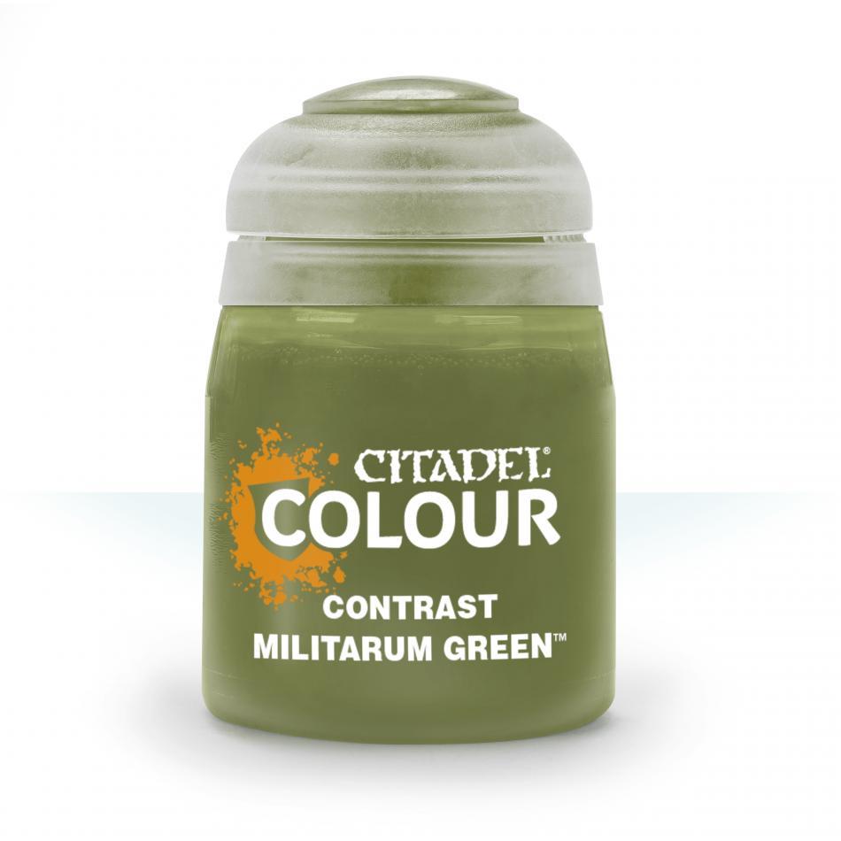 Contrast: Militarum Green (18ml)