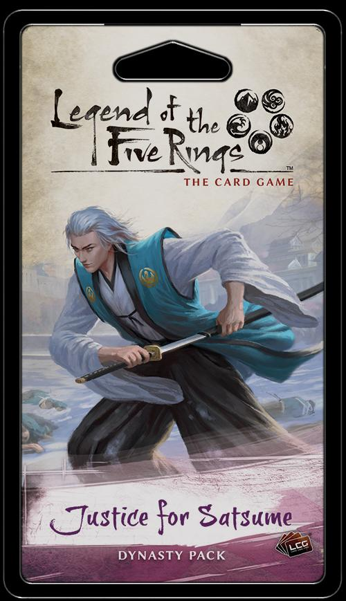 Justice for Satsume Dynasty Pack: L5R LCG
