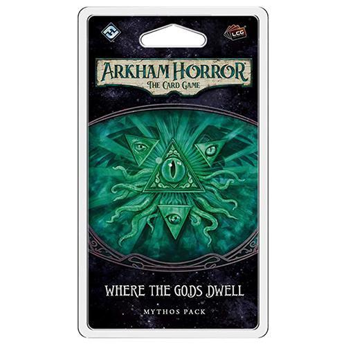 Where the Gods Dwell Mythos Pack: Arkham Horror LCG Exp