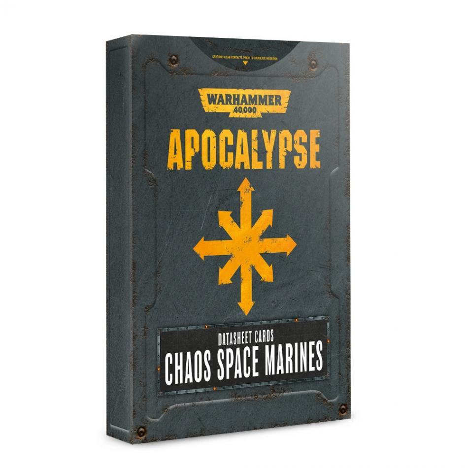 Apocalypse Datasheets: Chaos Space Marines (English)
