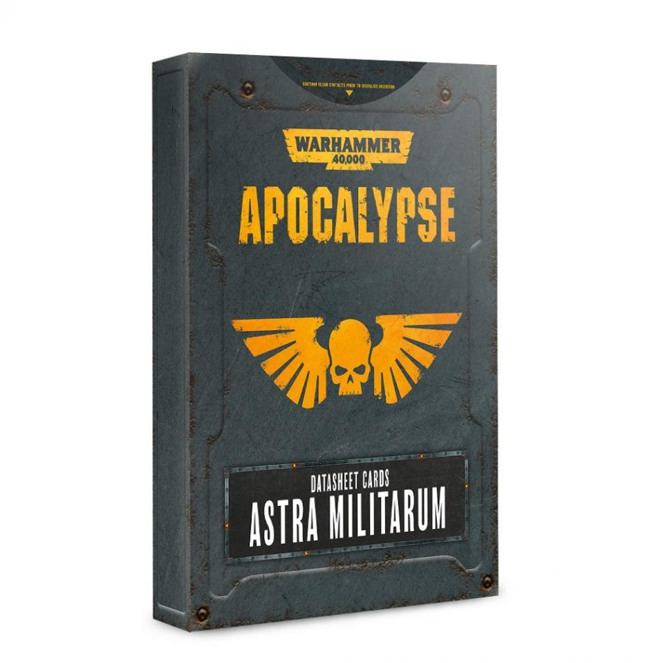 Apocalypse Datasheets: Astra Militarum (English)