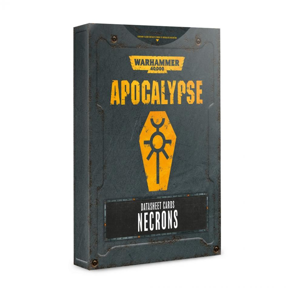 Apocalypse Datasheets: Necrons (English)