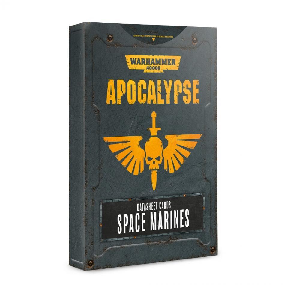 Apocalypse Datasheets: Space Marines (English)