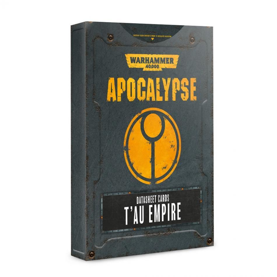Apocalypse Datasheets: T'au Empire (English)