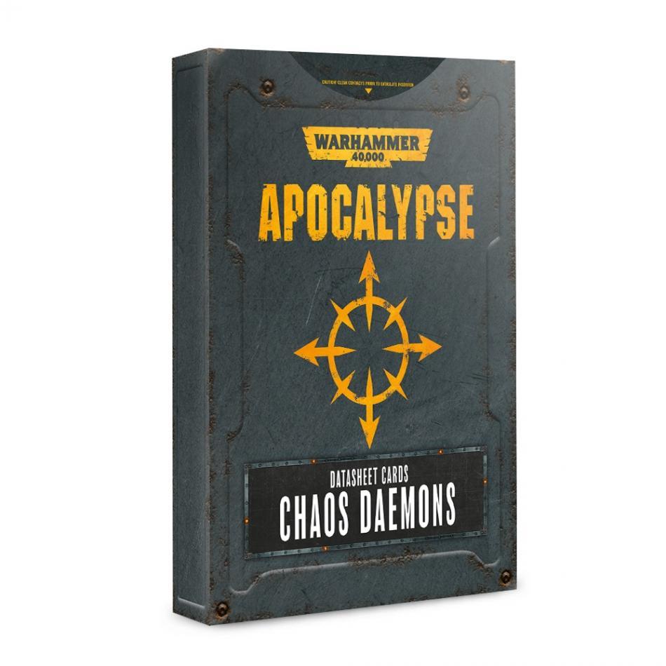 Apocalypse Datasheets: Chaos Daemons (English)