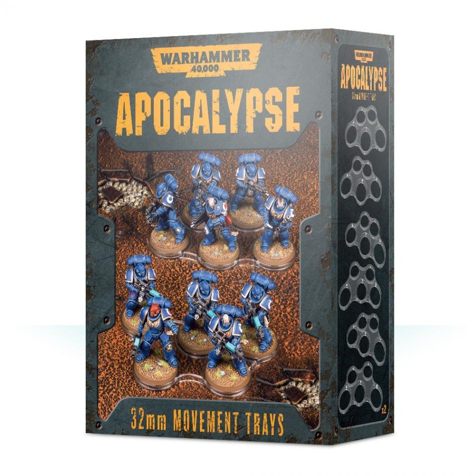 Warhammer 40k Apocalypse Movement Trays (32mm)