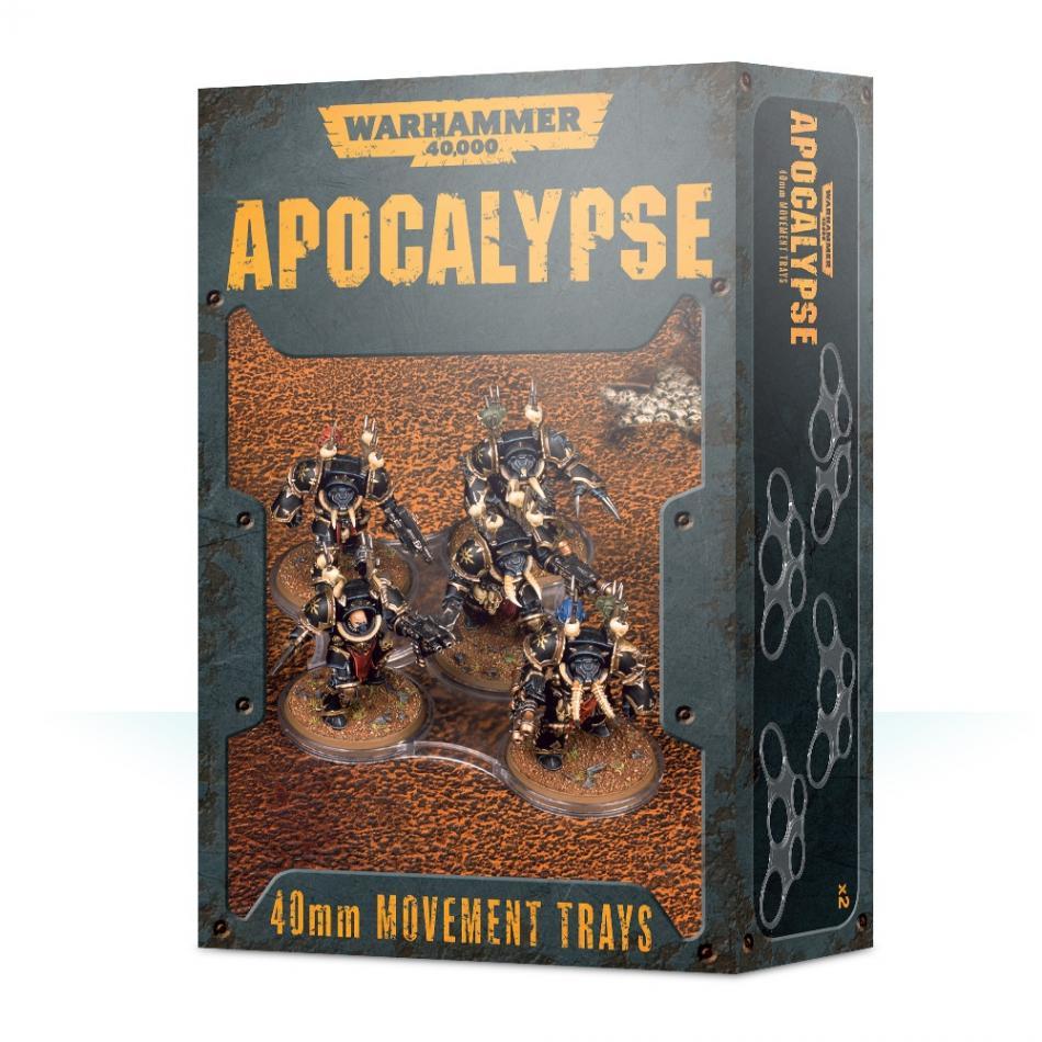 Warhammer 40k Apocalypse Movement Trays (40mm)