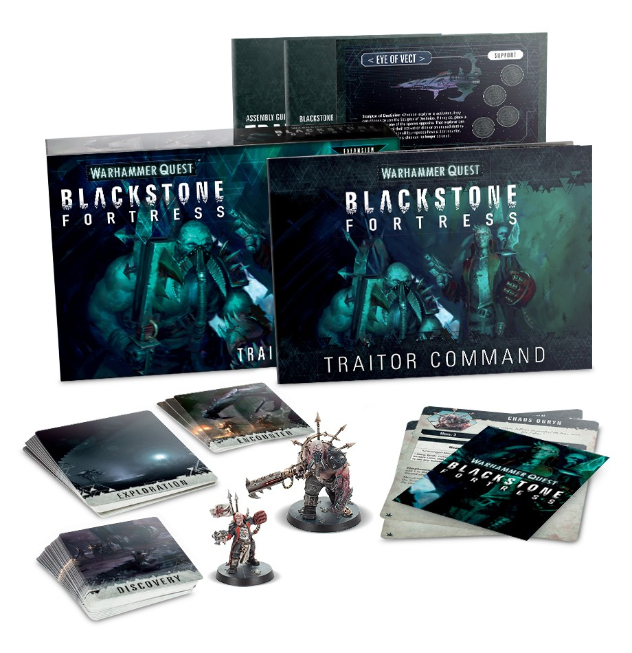 Blackstone Fortress: Traitor Command (English)