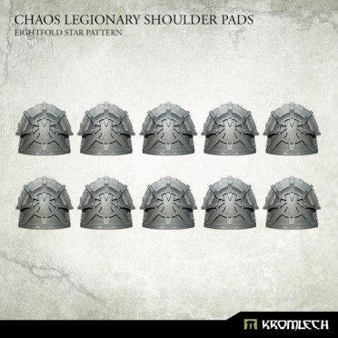 Chaos Legionary Shoulder Pads: Eightfold Star (10)