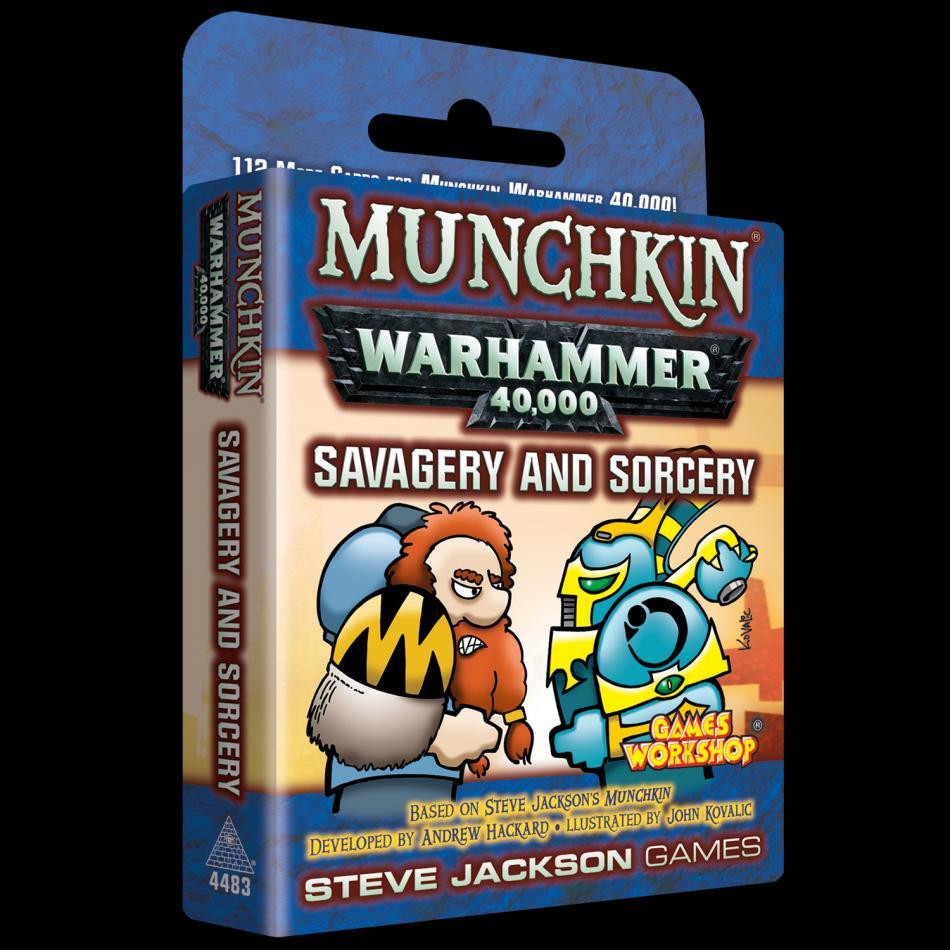 Munchkin Warhammer 40000: Savagery and Sorcery