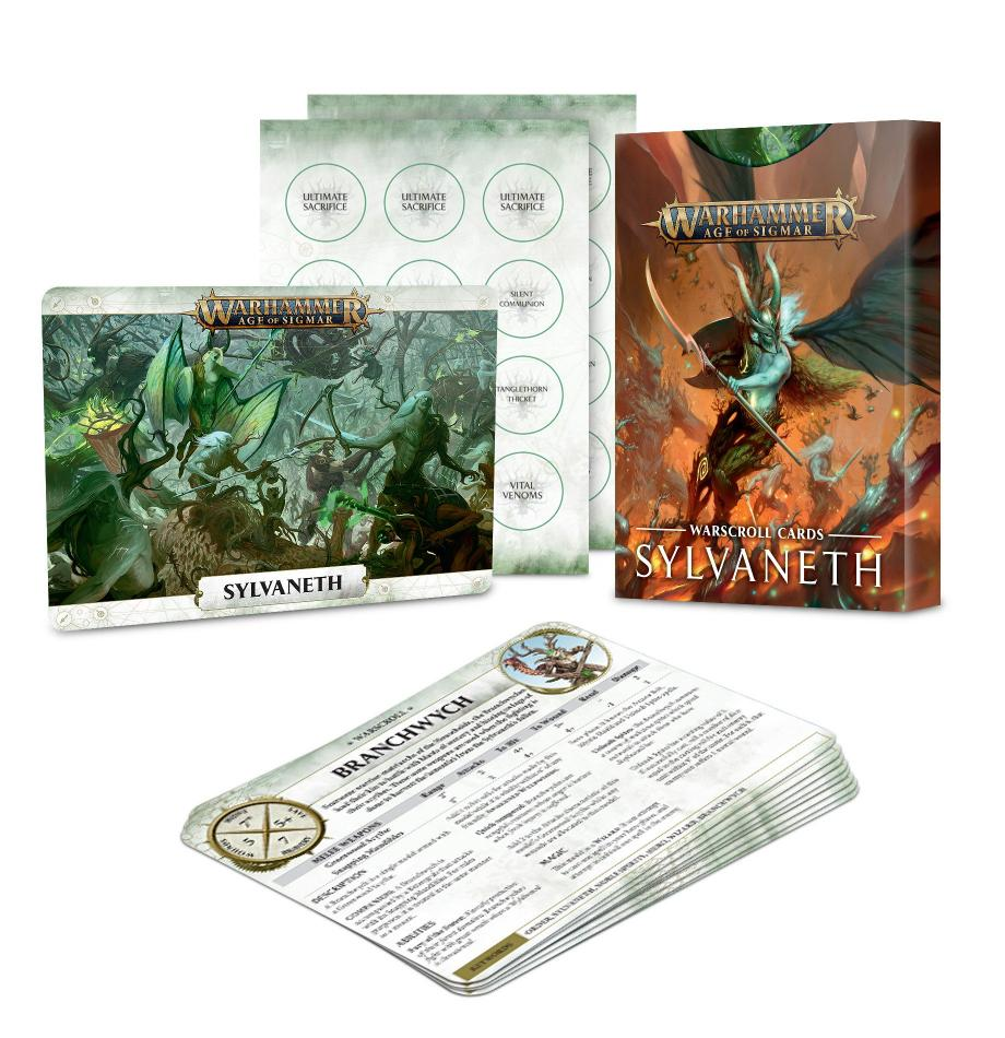 Warscroll Cards: Sylvaneth (English)
