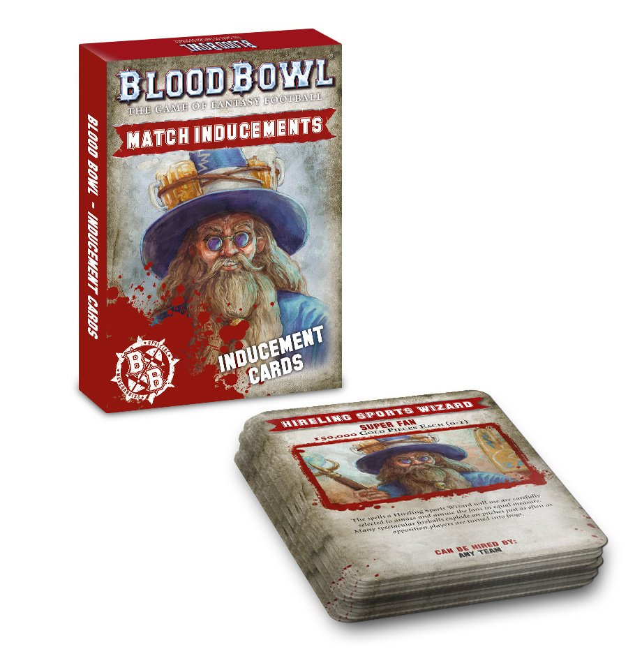 Blood Bowl: Inducements Cards (English)