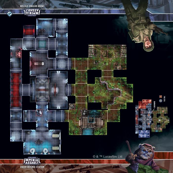 Endor Defense Station Skirmish Map