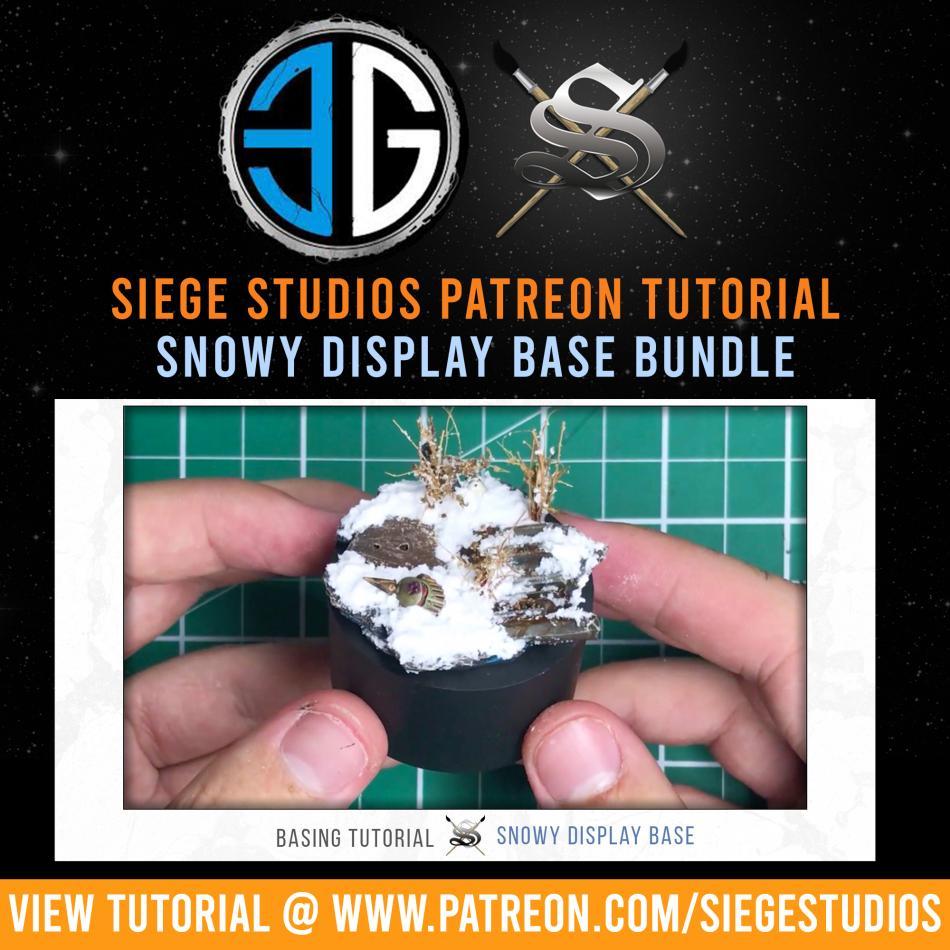 Siege Studios - Snow Base Paint Bundle