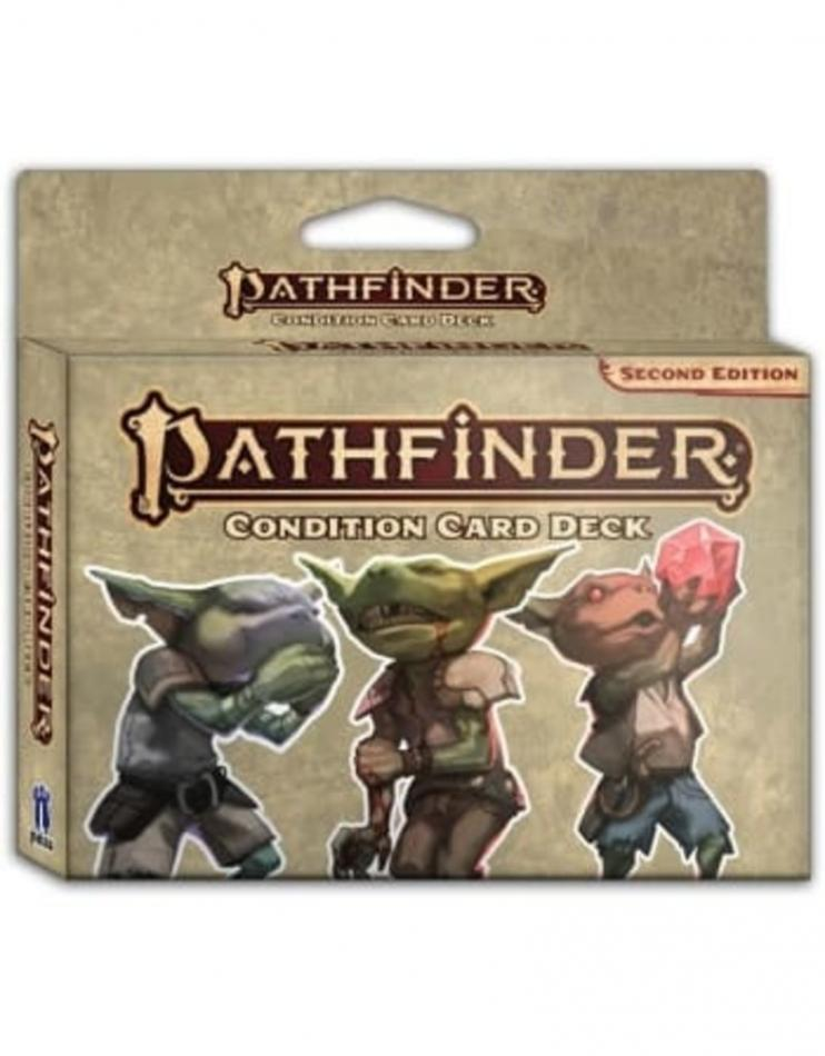 Condition Card Deck: Pathfinder RPG Second Edition (P2)