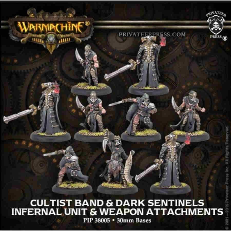 Infernal Unit & WA Cultist Band & Dark Sentinels (9)