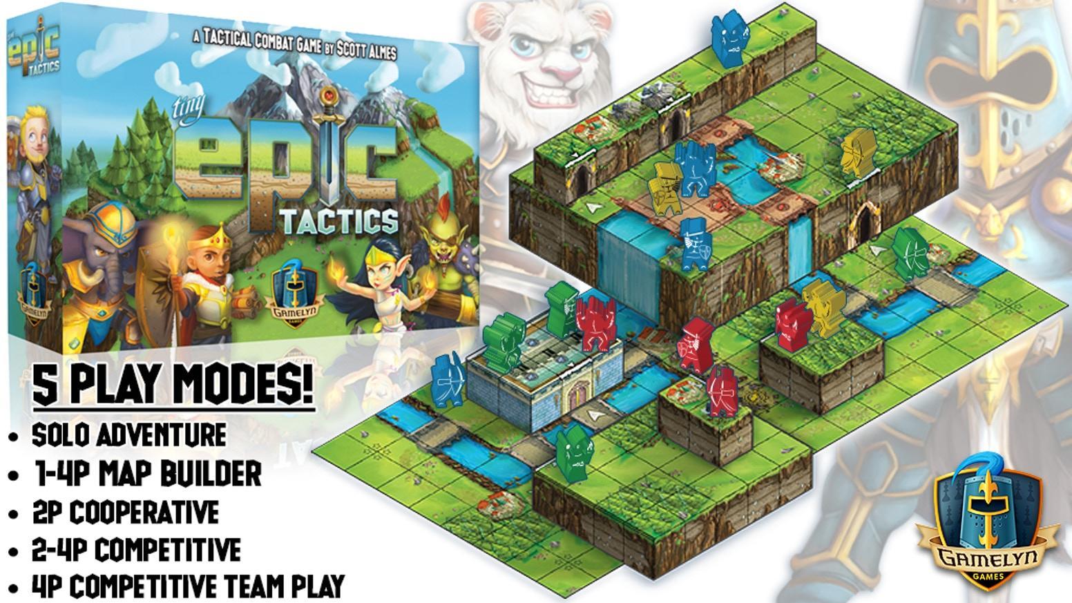 Tiny Epic Tactics Play Mat