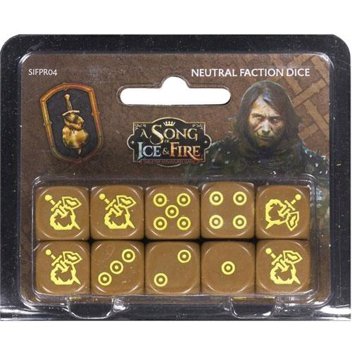 Mercenaries Dice: A Song Of Ice and Fire Exp.