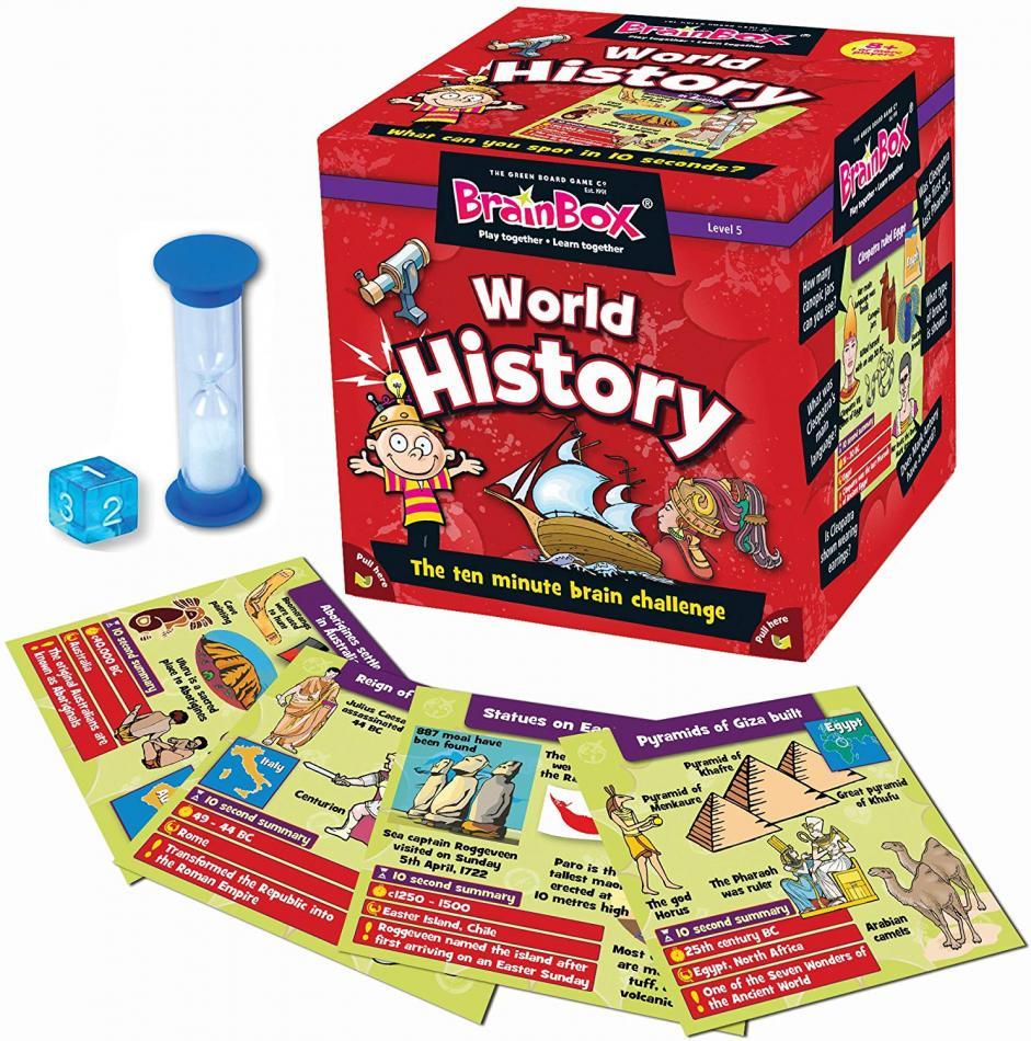 BrainBox World History (55 cards)
