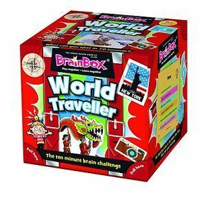 BrainBox World Traveller (55 cards)