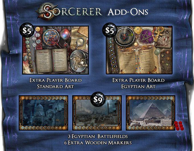 Extra Player Board: Sorcerer