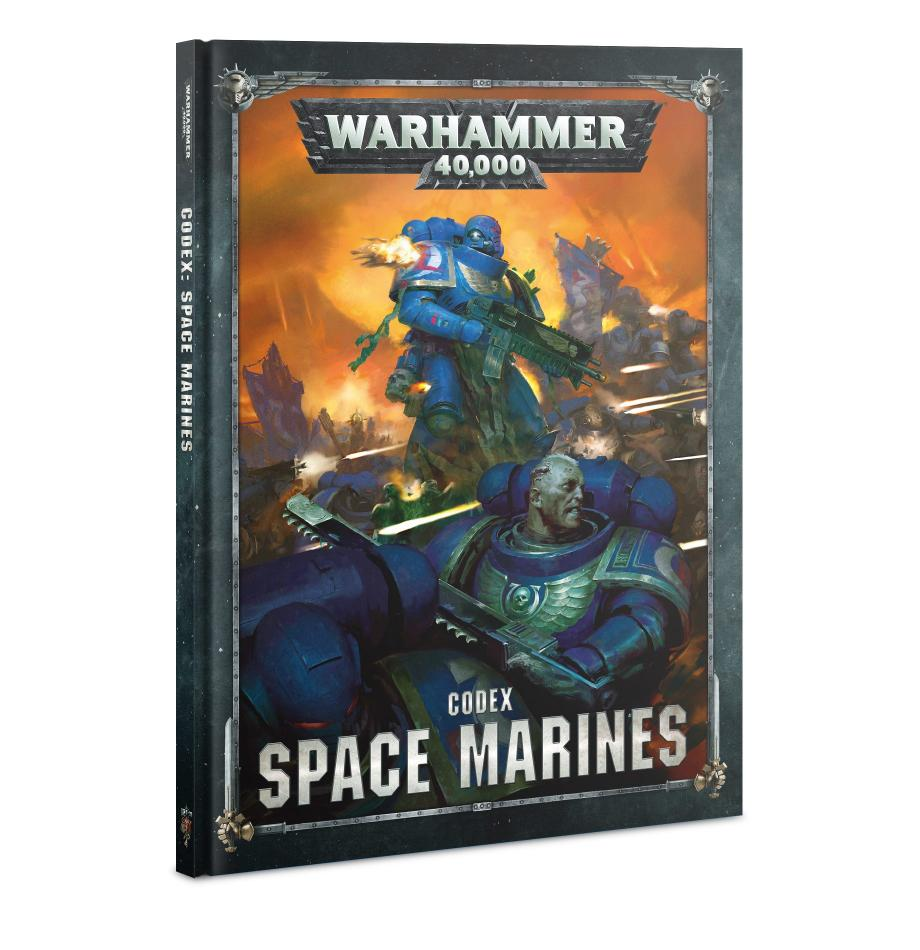 Codex: Space Marines (Hardback) (English) (OLD 8th Edition)
