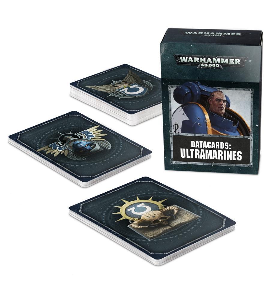 Datacards: Ultramarines (English)