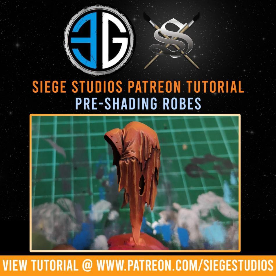 Siege Studios - Pre-Shading Robes Paint Bundle