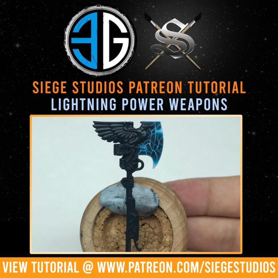 Siege Studios - Lightning Power Weapons Paint Bundle