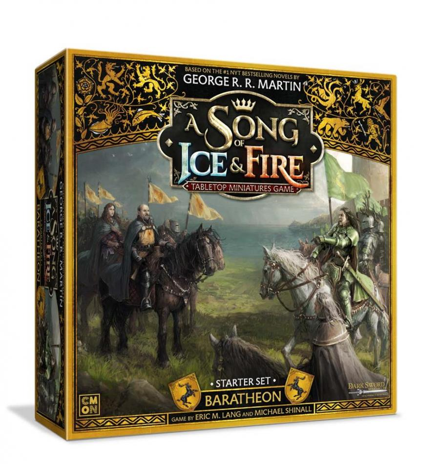 Baratheon Starter Set: A Song Of Ice and Fire Core Box