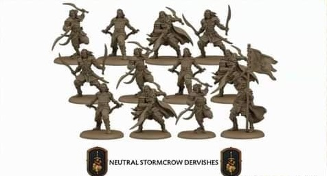 Neutral Stormcrow Dervishes: A Song Of Ice and Fire Exp.