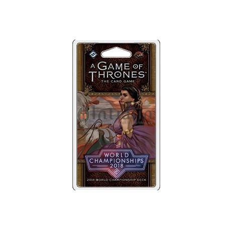 2018 Joust World Championship Deck: A Game of Thrones LCG 2nd Edition