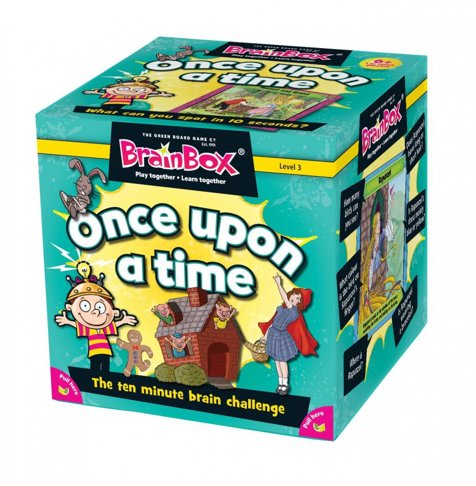 BrainBox Once Upon a Time (55 Cards)